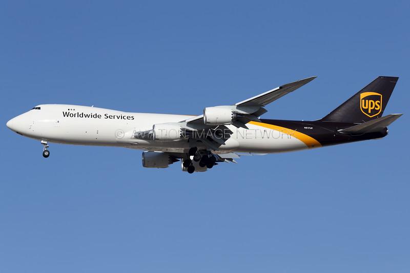 N617UP | Boeing 747-84AF | UPS - United Parcel Service