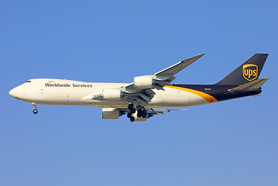 N605UP | Boeing 747-84AF | UPS - United Parcel Service