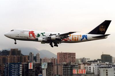 N521UP | Boeing 747-212B/SF | United Parcel Service
