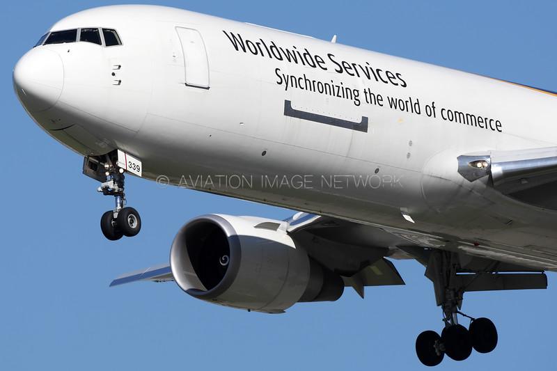 N339UP   Boeing 767-34AF/ER   UPS - United Parcel Service