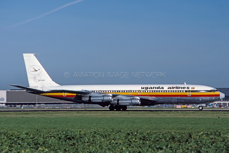 5X-UAC | Boeing 707-351C | Uganda Airlines