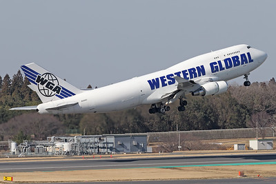 N356KD | Boeing 747-446(BCF) | Western Global Airlines