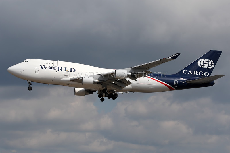 N742WA | Boeing 747-412(BDSF) | World Airways