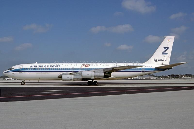 SU-DAA   Boeing 707-328C   ZAS Airline of Egypt