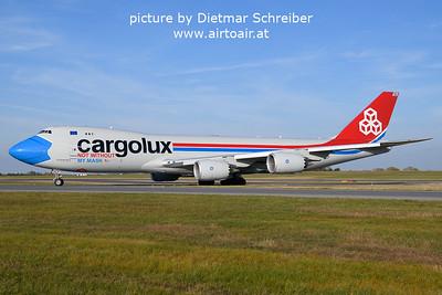 2021-10-17 LX-VCF Boeing 747-8 Cargolux