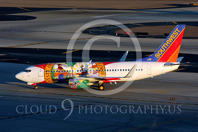 B737 00073 Boeing 737 Southwest Airline Florida markings Sky Harbor July 2011 airplane picture, by Carl Porter