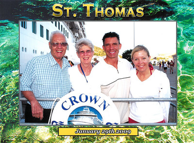 Caribbean Cruise - St Thomas, U.S. Virgin Islands & St. Johns