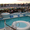 Sail away party on the Grand Princess