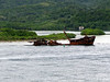 Sunken ship in Mahogany Bay