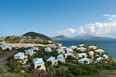 St Kitts A high-end residential area just outside Basseterre.