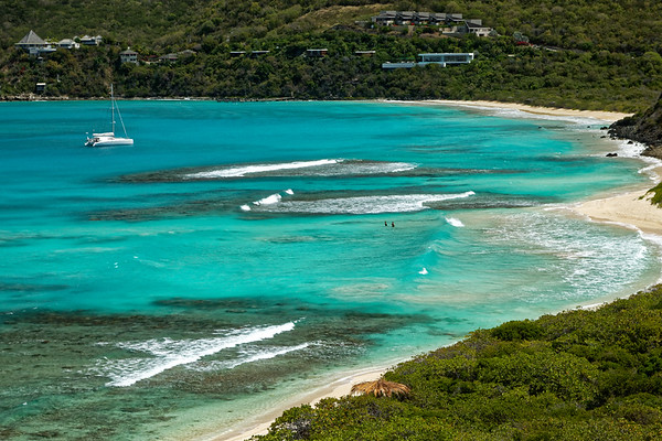 Savannah Bay and Pond Bay, Virgin Gorda, British Virgin Islands