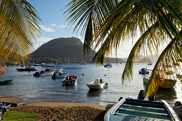 The bay in Terre-de-Haut, Illes Des Saintes, Guadeloupe
