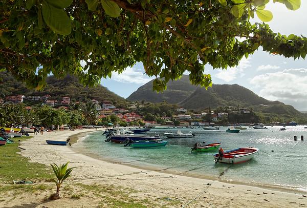 Beach in Terre-de-Haut, Illes Des Saintes, Guadeloupe
