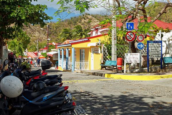 Street in Terre-de-Haut, Illes Des Saintes, Guadeloupe