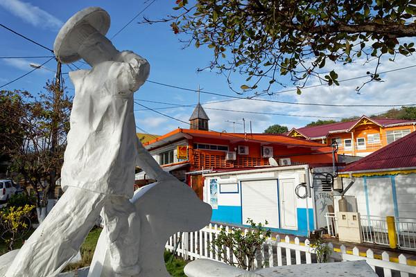 Chef statue, Terre-de-Haut, Illes Des Saintes, Guadeloupe
