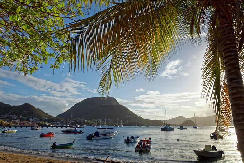 The bay in Terre-de-Haut, Illes Des Saintes, Guadeloupe
