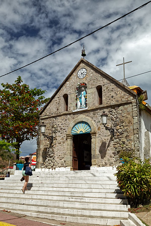 Catholic church, Terre-de-Haut, Illes Des Saintes, Guadeloupe