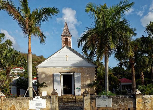 St Bartholomew's Anglican Churchin Saint Barthélemy