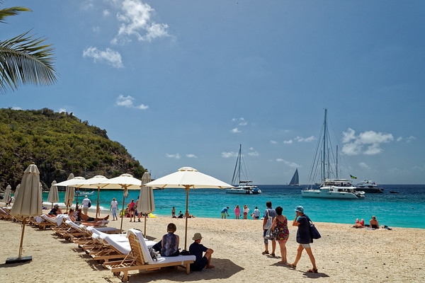 Shell Beach in Saint Barthélemy