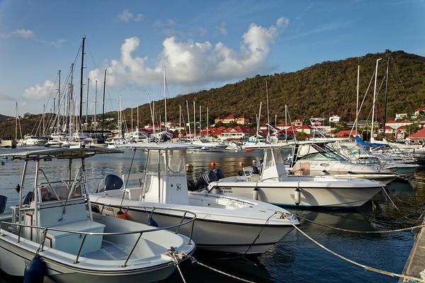 Marina in Gustavia, Saint Barthélemy