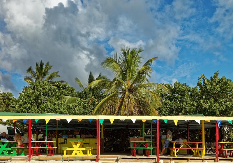 Beach bar, Mullet Bay, Sint Maarten