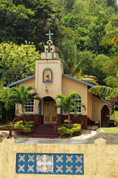 Church at Maracas Bay