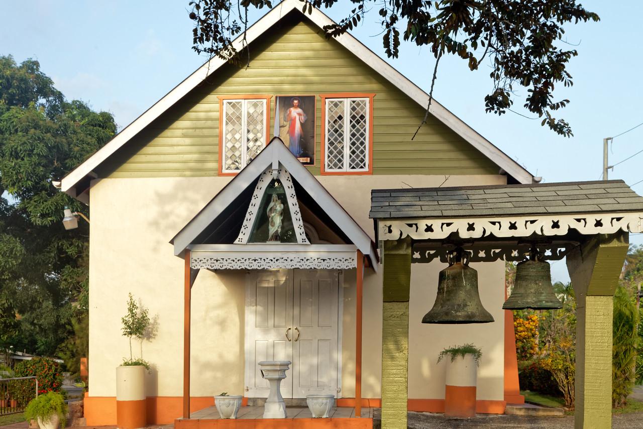 Our Lady of Mount Carmel Catholic church, Blanchissuese