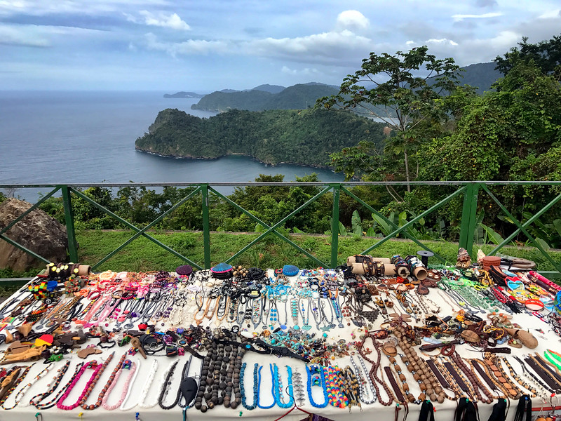Crafts for sale on the North Coast road