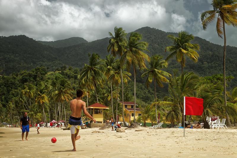 Games at Maracas Bay