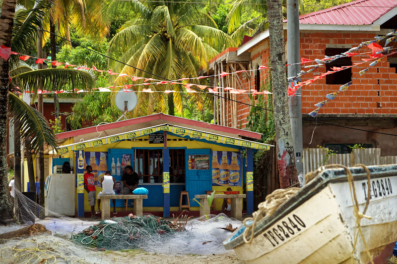 Bar at Maracas fishing village