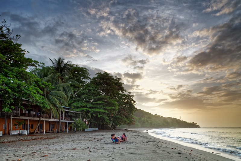 Mt Plaisir Hotel and beach at Grande Riviere