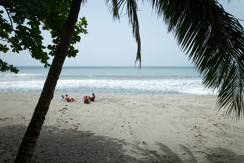 On the beach at Grande Riviere