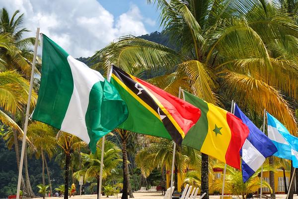 Caribbean colours, Maracas