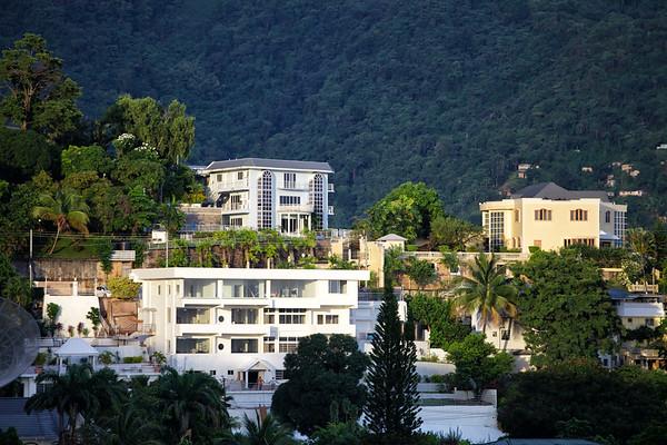 Rich peoples' homes in Port of Spain