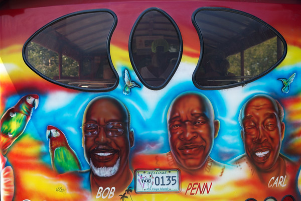 Taxi drivers, St John, US Virgin Islands