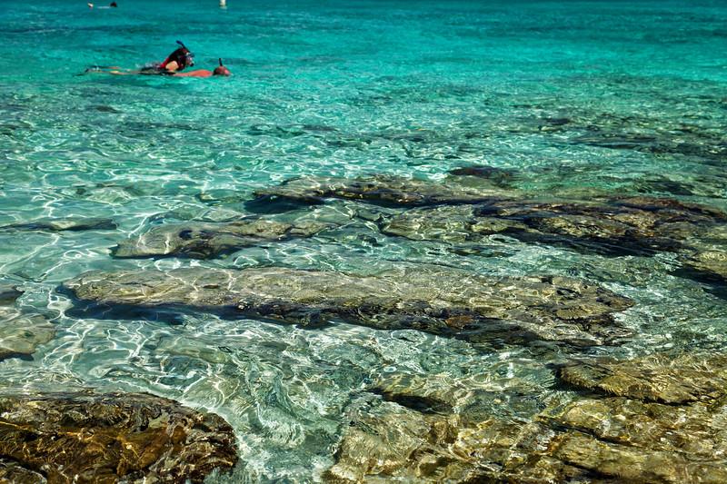 Snorkelling, Honeymoon Bay, St John, US Virgin Islands