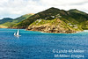 """Sailing into Antigua: Antigua (aka """"anti-water"""") is one of the driest islands in the Caribbean averaging only 45"""" of rainfall annually."""