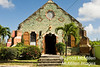 St. Barnabus Church in Liberta, Antigua, was built in 1892 of the island's native green limestone.