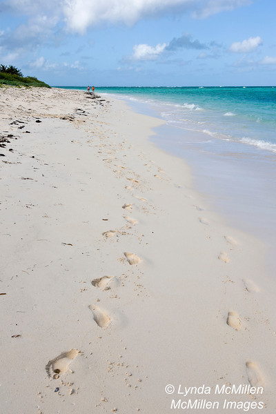 Miles and miles of white sand beaches and azure waters.