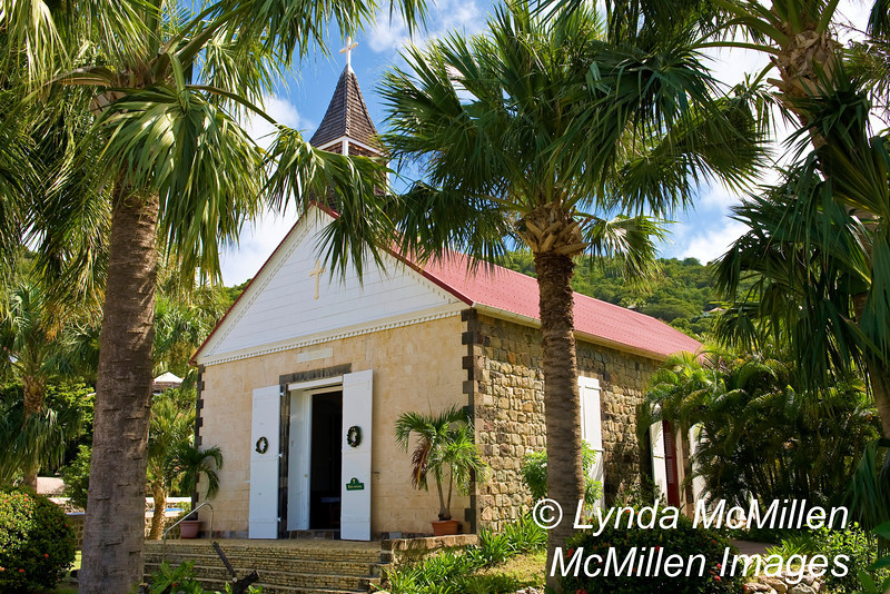 St. Barthelemy Church is the only one on St. Barth's to hold services in English.