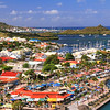 Scenic Overlook of Marigot, St.Martin