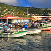 Fishing Boats in Frenchtown, St. Thomas, US Virgin Islands