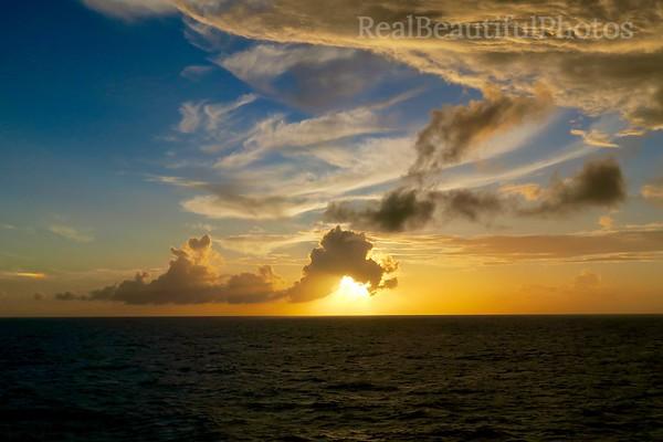 Big Caribbean Sky