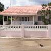 A house located near the UNESCO World Heritage Site of Willemstad on the Caribbean Island of Curaçao