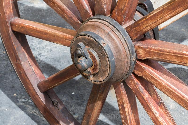 Fort Amsterdam cannon wheel UNESCO World Heritage Site