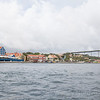 Colourful waterfront at the UNESCO World Heritage Site of Willemstad on the Caribbean Island of Curaçao