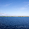 Caribbean paradise found on the white sandy beaches of Half Moon Cay, Bahamas