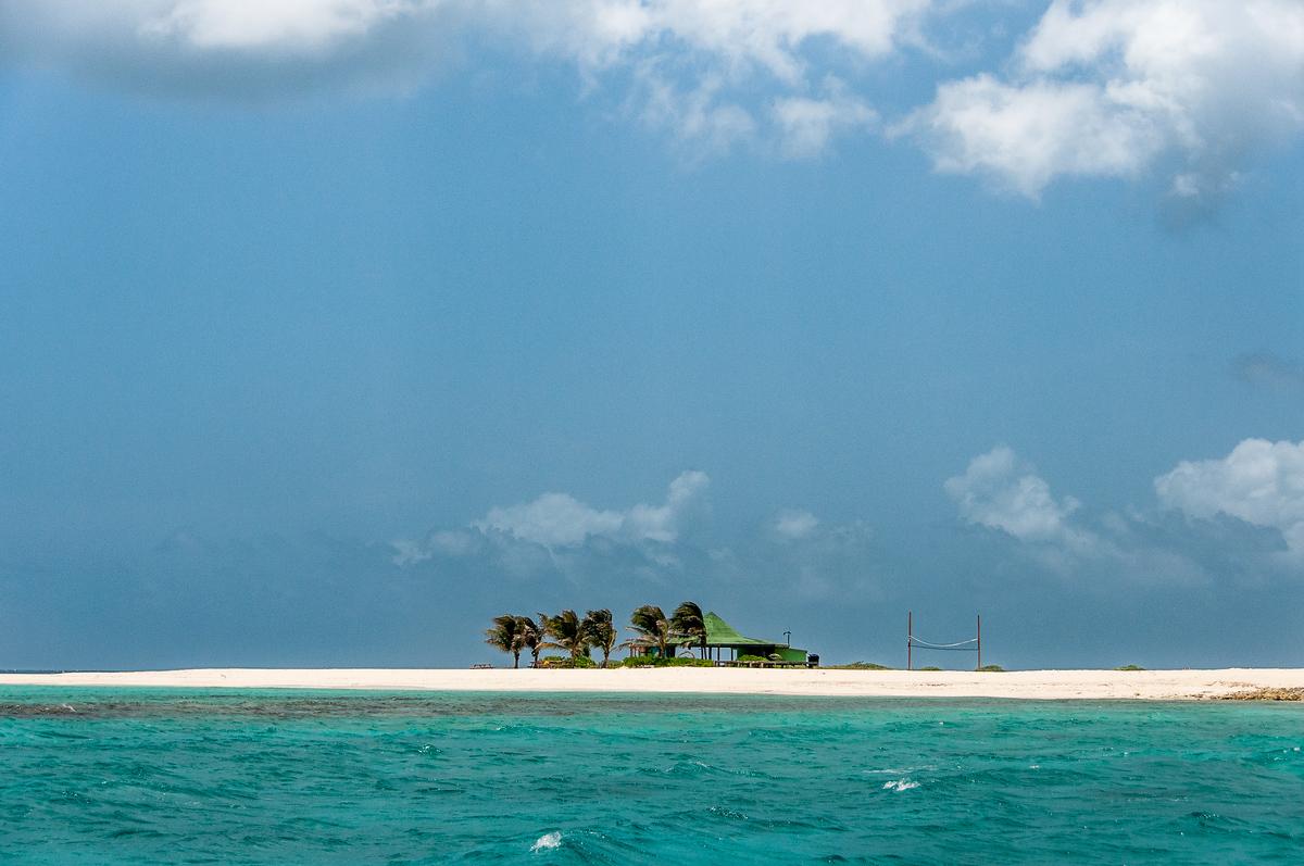 Sandy Island Off the Coast of Anguilla