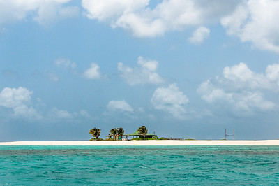 View of an island in Anguilla