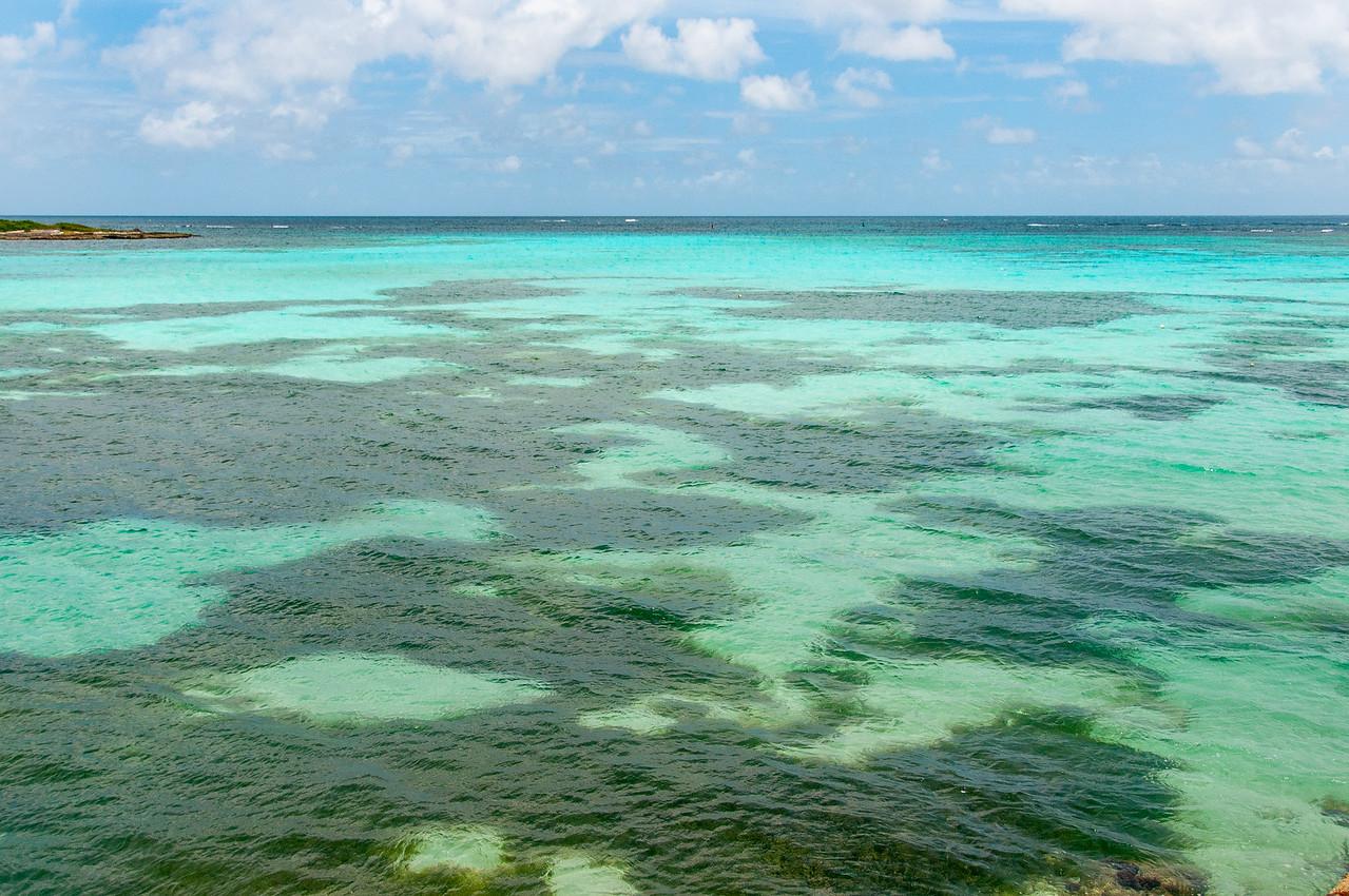 Seascape in the island of Anguilla